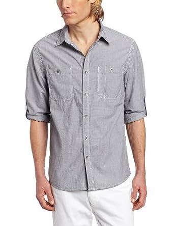 (坑爹)肯尼斯科尔新款都市休闲衬衣Kenneth Cole Men's EndShirt 三色 $17.43