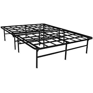Sleep Master Elite Platform Metal Bed Frame/Mattress Foundation, Full