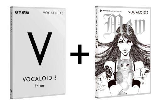 VOCALOID3 が21日に発売します!「坂本美雨」の声を元に制作された「VOCALOID3 スターターパック Mew」と「VOCALOID 3 スターターパック Megpoid Complete」も発売