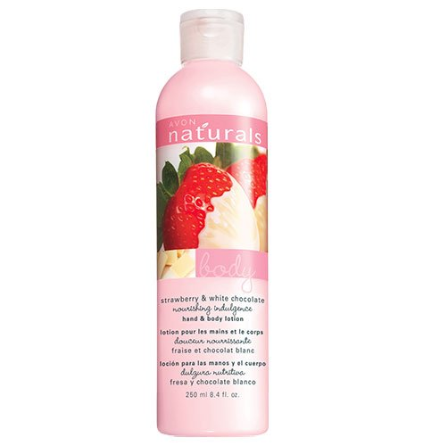 Avon Strawberry & White Chocolate Hand & Body Lotion