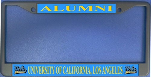 ucla alumni photo license plate frame