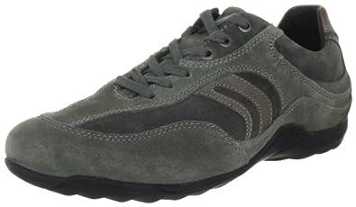 Geox  Compass  Herren Fashion Sneakers, Grau (GREY/DK GREY C0001), EU 40