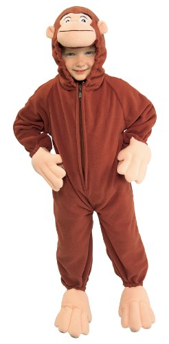 Baby-Toddler-Costume Curious George Toddler Costume Halloween Costume