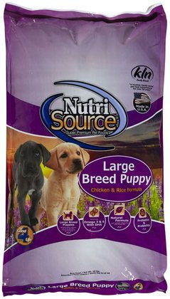 Tuffy'S Pet Food 131116 Nutri Large Breed Chicken/Rice Puppy Food, 18-Pound
