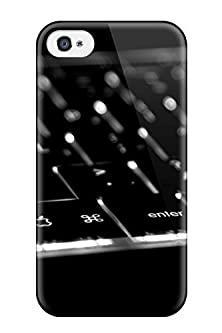 buy Protection Case For Iphone 4/4S / Case Cover For Iphone(Mac Keyboard Technology Man Made Technology)