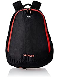Wildcraft Polyester 39 Ltrs Black School Backpack (Wiki 6 Hue 6)