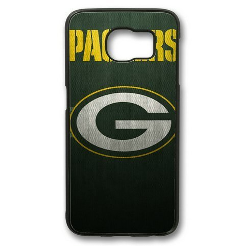 Galaxy S6 Case, Green Bay Packers NFL Logo Personalized Slim Fit Case for Samsung Galaxy S6 PC Material Black from GAIZHONGGAI