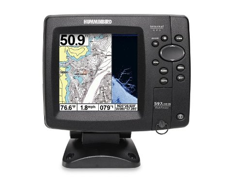 Humminbird fishfinder humminbird 597ci hd di combo fish for Humminbird portable fish finder