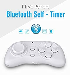 Motoraux Wireless Bluetooth Controller Remote for Virtual Reality Headset 3D Glasses Fit for Andriod,PC Phone Series