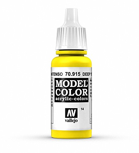 Vallejo Acrylic Paint, Deep Yellow
