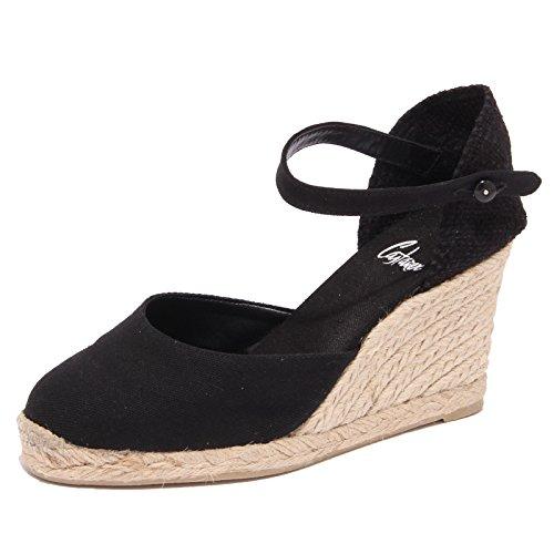 1568Q sandalo CASTANER CAROL nero scarpa donna sandal woman [39]