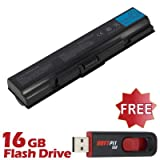Battpit⢠Laptop / Notebook Battery Replacement for Toshiba Satellite A200-195 (6600 mAh) with FREE 16GB Battpit⢠USB Flash Drive