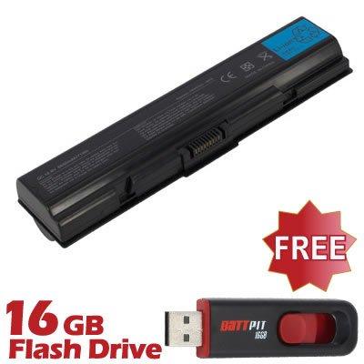 BattPit Notebook Akku für Toshiba Satellite L500-208 (6600 mah) bei kostenlosem 16GB Battpit USB-Stick