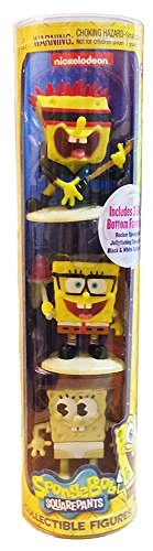 SpongeBob Squarepants Collectible Figures Set of 3 - 1
