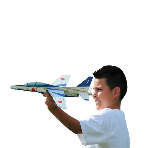 "Constructive Playthings - Deluxe Jet Glider, 17""L, Asst styles, Made of Foam - 1"