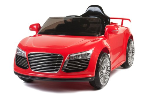 Ride On Toy Car Audi Style New 2014 Model 12V Battery Remote Control Power Wheel