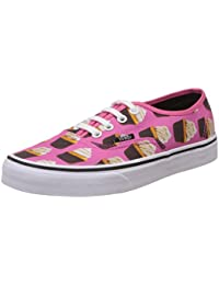 Vans Unisex Late Night, Hot Pink And Cupcakes Sneakers - [4 UK (36.5 EU) (6.5 US) M/4 UK (36.5 EU) (5 US) W]