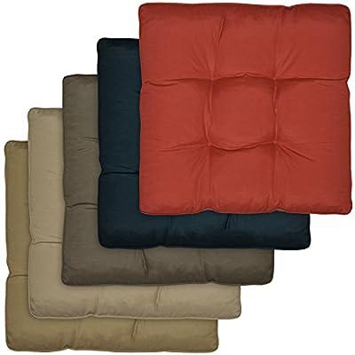 Outdoor Loungekissen Sitzkissen - versch. Farben und Größen von Beautissu - Gartenmöbel von Du und Dein Garten