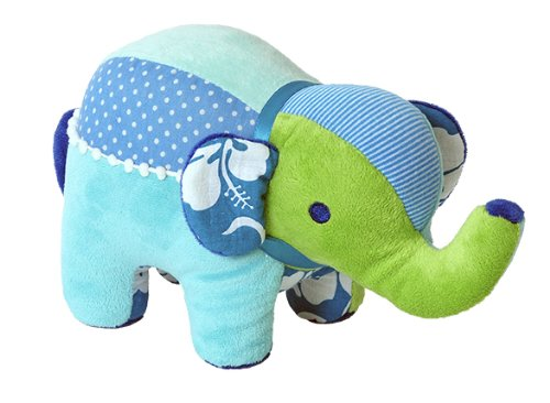 Happy Horse 26cm Mix Match Elephant Soft Toy (Blue)