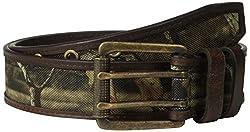 Mossy Oak Men's Mossy Belt, Mossy Oak/Brown, 36