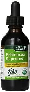 Gaia Herbs Certified Organic Echinacea Supreme Dietary Suplement, 2 Ounce