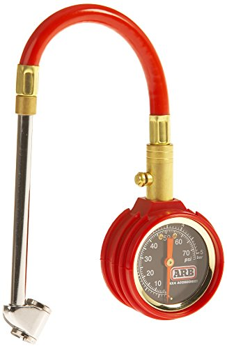 ARB ARB506 Red Small Dial Tire Gauge (Atlas Tire compare prices)