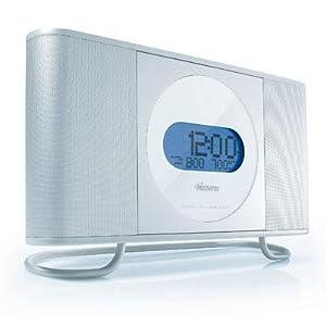 Memorex Clock Digital Radio with CD Front Load Player