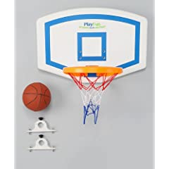 Basketball Hoop for Trampoline (Vertical Poles) by PlayFun Sports