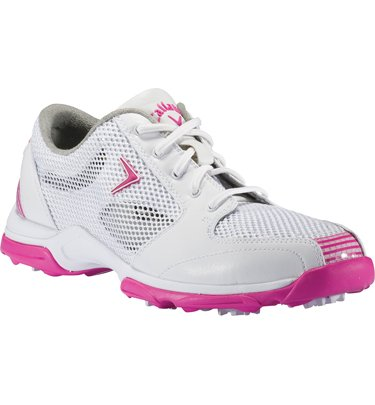 Callaway Callaway Ladies Solaire Athletic Golf Shoes 7 1/2 Us Medium White/Pink