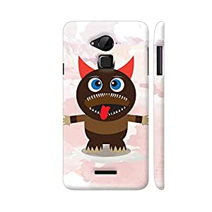 Colorpur Danger Halloween Designer Mobile Phone Case Back Cover For Coolpad Note 3 / Note 3 Plus | Artist: Designer Chennai