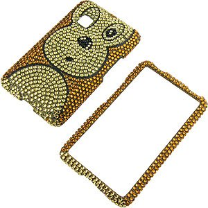 Amazon.com: Rhinestones Protector Case for LG 840G, Monkey Full