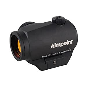 Amazon.com : Aimpoint Micro H-1 2 MOA Red Dot Sight with