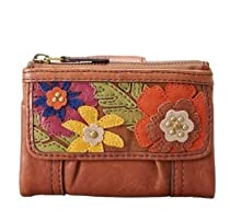 Hot Sale FOSSIL Emory Multifunction Color: Floral Wallet