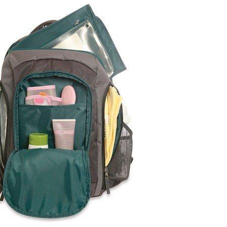 diaper bag eddie bauer backpack grey turquoise backpacks. Black Bedroom Furniture Sets. Home Design Ideas