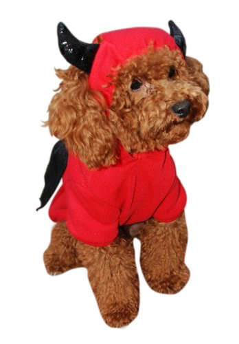 [Anit Accessories Devil Bat Dog Costume, 8-Inch] (Bat Wings Dog Costume)