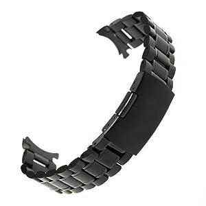 Ritche b80c22 - Correa de acero inoxidable , color negro (22) marca Ritche