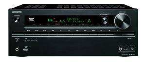 Onkyo TX-NR709 7.2 Netzwerk-Receiver (THX, 4K Upscaler, 2 HDMI Out, Audio-Streaming, iPod/iPhone über USB) schwarz