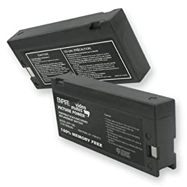 Olympus VX407 Video Camera Battery, SLA 12V 2000mA