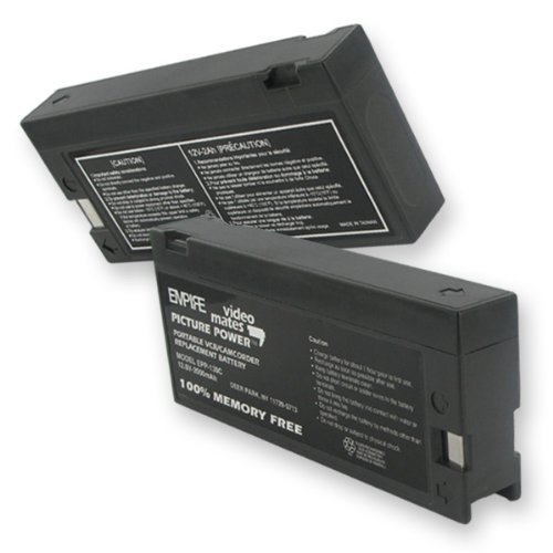 2000Ma, 12V Replacement Battery For Sears 53672 Video Cameras - Empire Scientific #Epp-130C front-198568