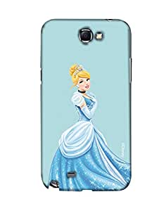 Pick Pattern with Exclusive DISNEY Characters Back Cover for Samsung Galaxy Note II N7100