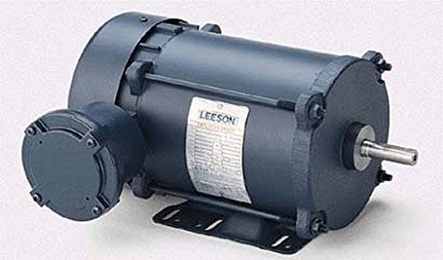1 Hp 1725 Rpm 56H 208-230/460 Volts Explosion Proof Leeson Electric Motor # 111922