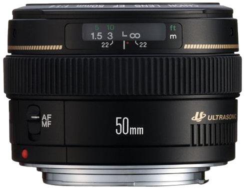 Canon EF 50mm - f/1.4 USM Lens