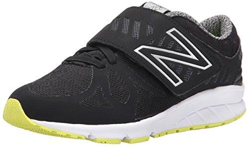 New Balance Vazee Rush P H and L Running Shoe (Little Kid), Black/Yellow, 13 M US Little Kid