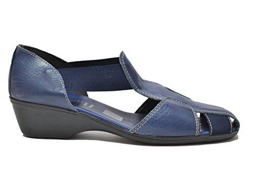 Cinzia Soft Scarpe sandali zeppa blu donna 8053Z 40