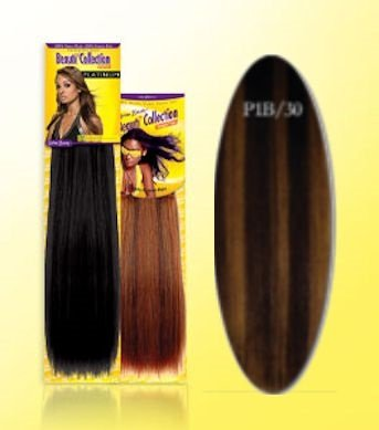 Beauti-Collection-Human-Hair-Weave-Yaki-Weave-16-P1B30-Piano-Dark-Blonde-Size-16