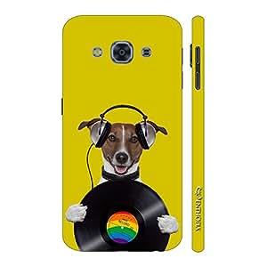 Enthopia Designer Hardshell Case Dog Record Back Cover for Samsung Galaxy J3 Pro