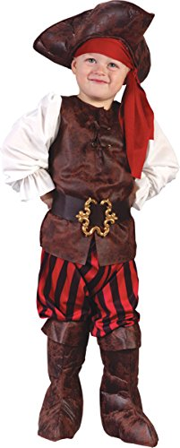 Fun World 18987 Boy High Seas Buccaneer Toddler Costume Size Toddler 3T-4T
