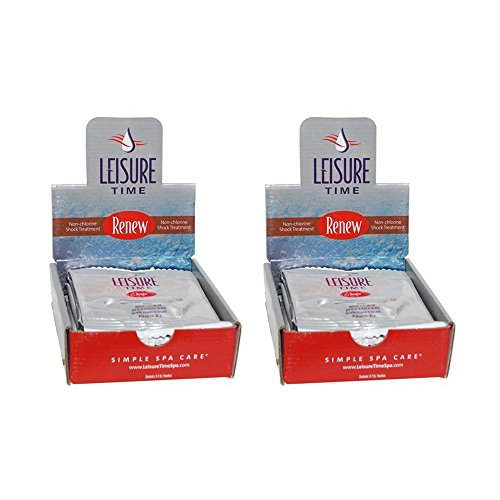 Leisure Time RENU-02 Renew Granular for Spas and Hot Tubs (12 Pack), 2 oz (Leisure Time Non Chlorine Shock compare prices)