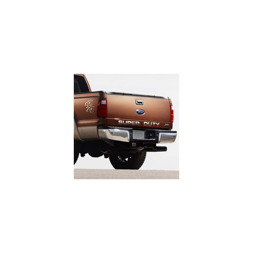 Ford Super Duty Trucks Tail Gate Chrome Letter Insert
