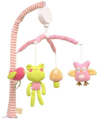 Lolli Living Poppy Seed Mobile, Owl - 1